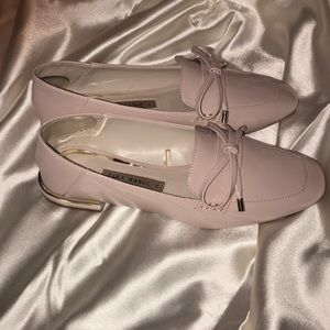 Zara basic size 36 6 Nude Gold Mules Flats Loafers